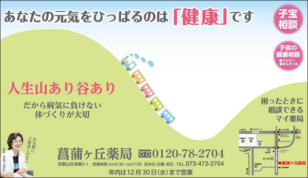 菖蒲ヶ丘薬局通信 2015年12月