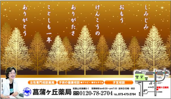 菖蒲ヶ丘薬局通信 2018年12月