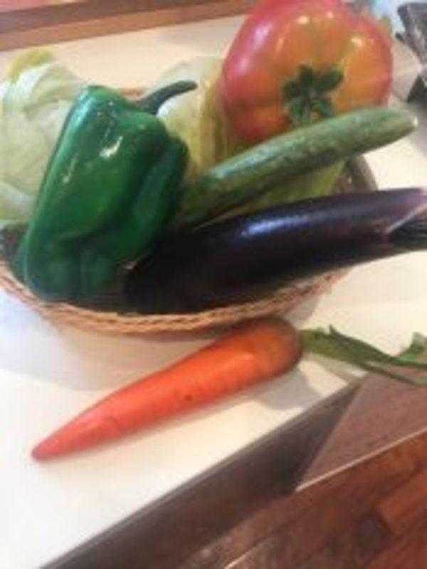 今日は野菜の日(*^^)v